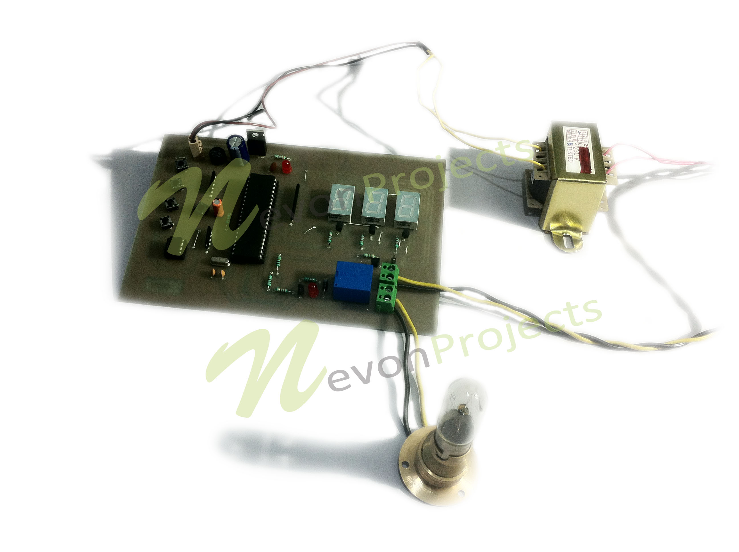 Precise Digital Temperature Controller Project Sensor Circuit Our Proposed Consists Of Sensors For More Accurate Control In Various Industries System Overcomes The