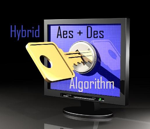 Hybrid AES DES encryption algorithm
