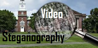 Video steganography project