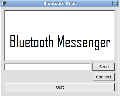 Bluetooth Messaging Project