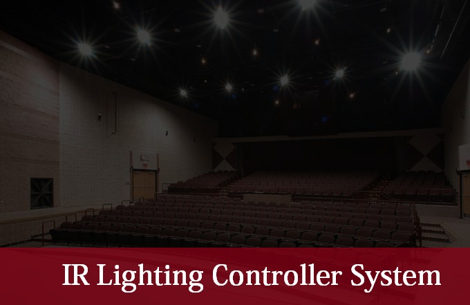 IR light controller project
