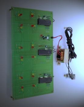 Traffic Signals With Synchronization System
