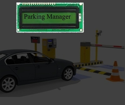 Automated RF plus IR Based Paid Parking Manager