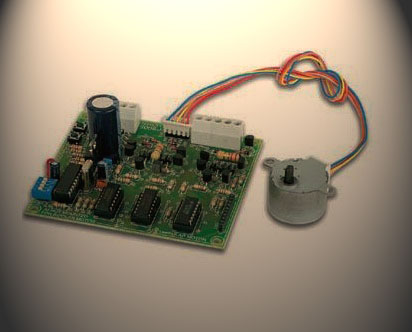 Remote stepper motor controller system for Stepper motor control system