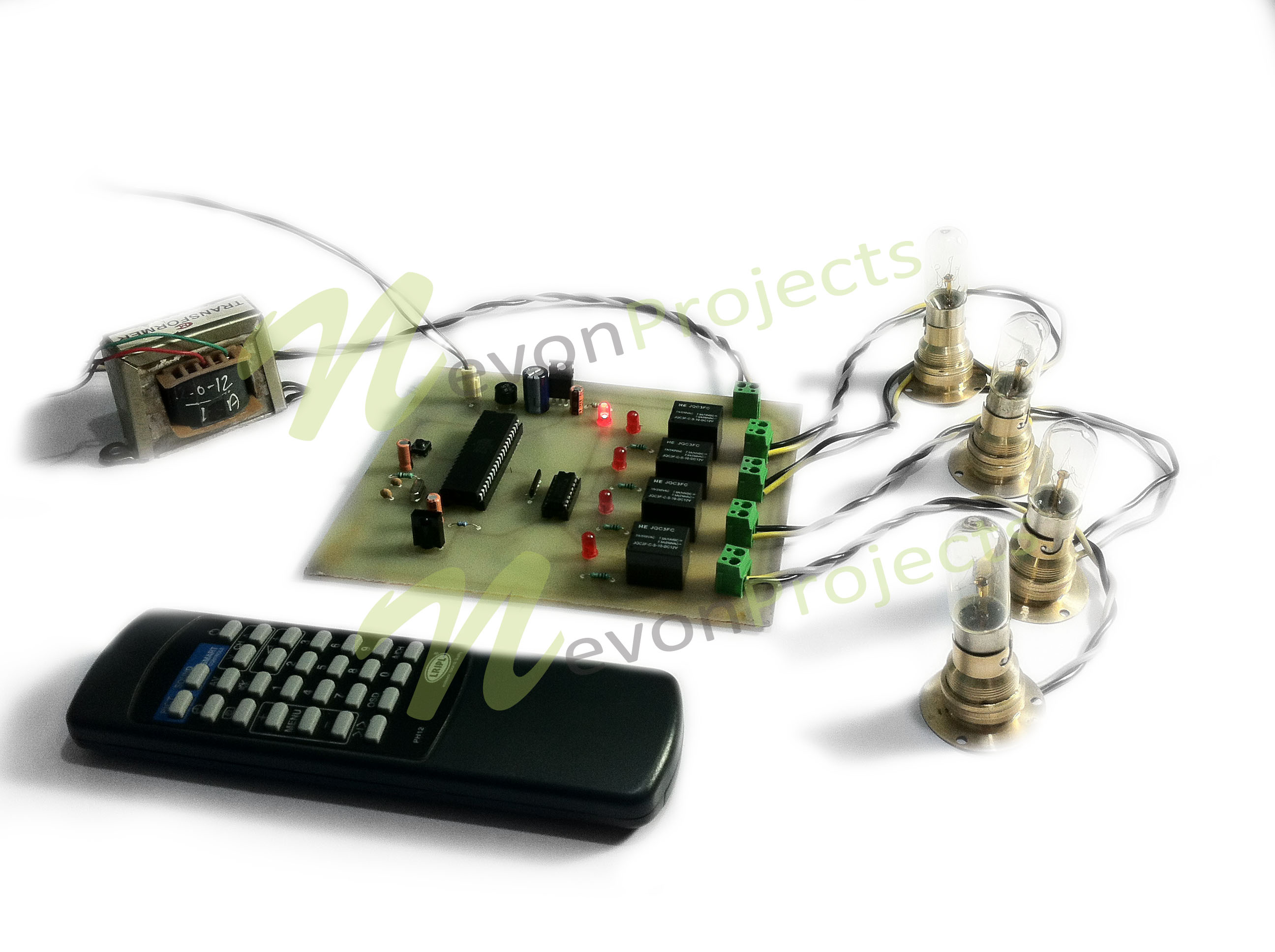 TV Remote Controlled Home Appliances Project