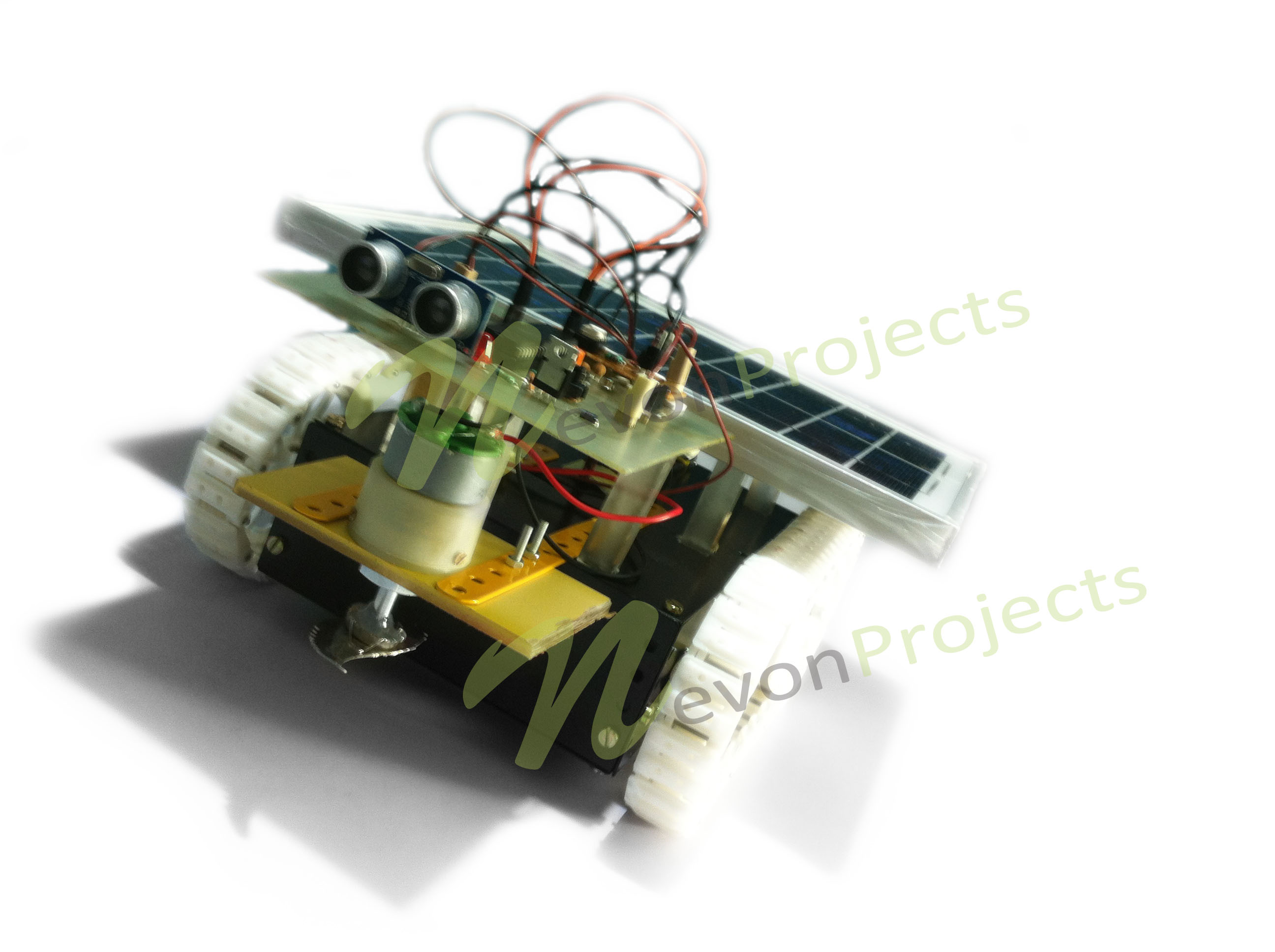 Fully Automated Solar Grass Cutter Advanced Tutorials Battery Wiring Diagrams For Energy Systems