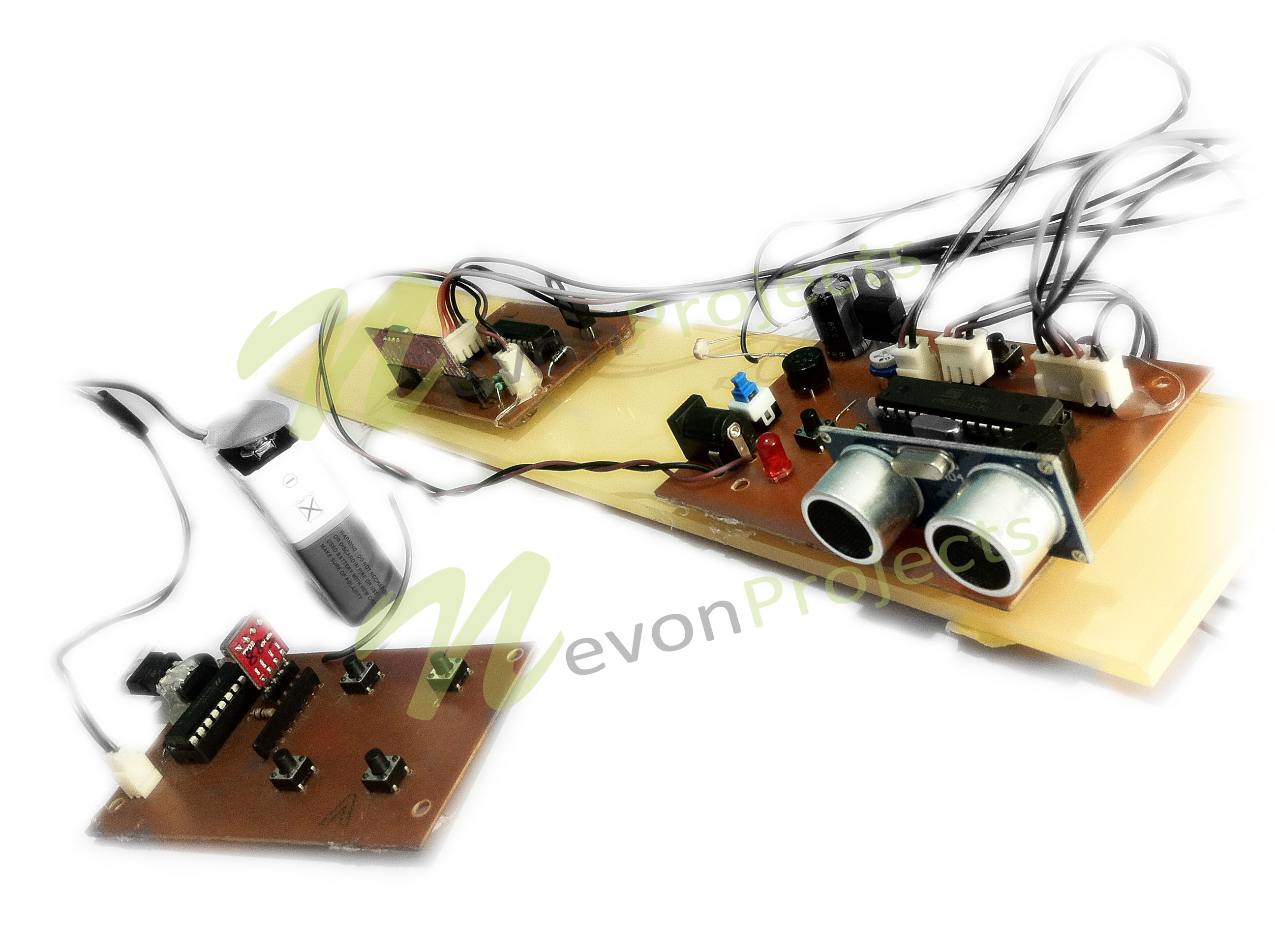 Ultrasonic Navigation Project For Blind People Nevonprojects Electronics Mini Projects Circuit This Kit Is Available