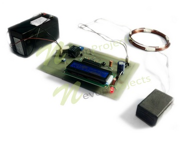 Smart Wireless Battery Charging With Charge Monitor Project
