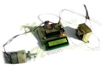 Dc motor for speed control