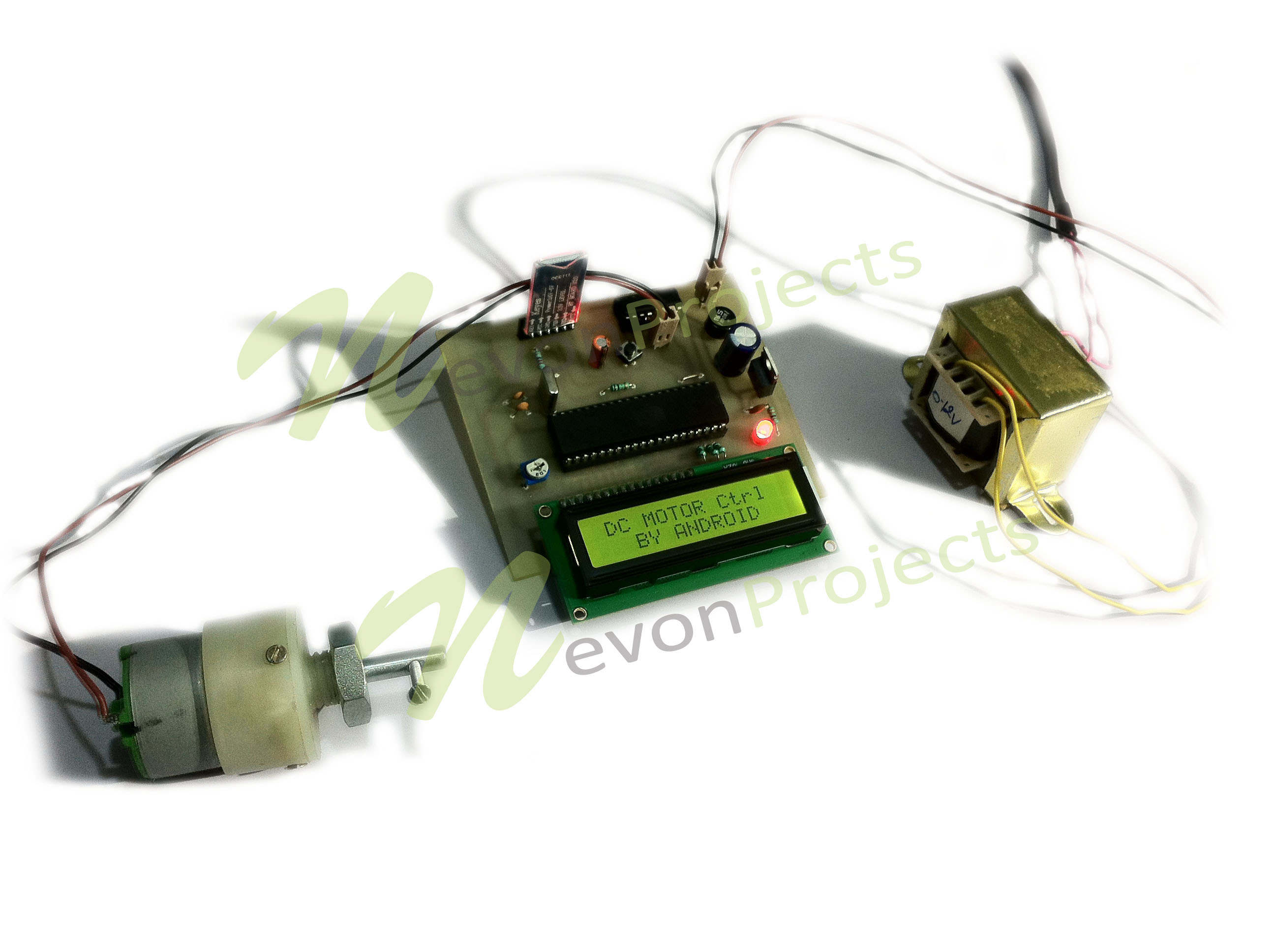 Microcontroller based dc motor speed controller for Speed control electric motor