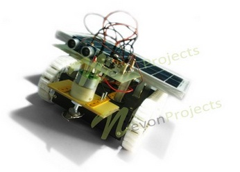 Solar grass cutter project