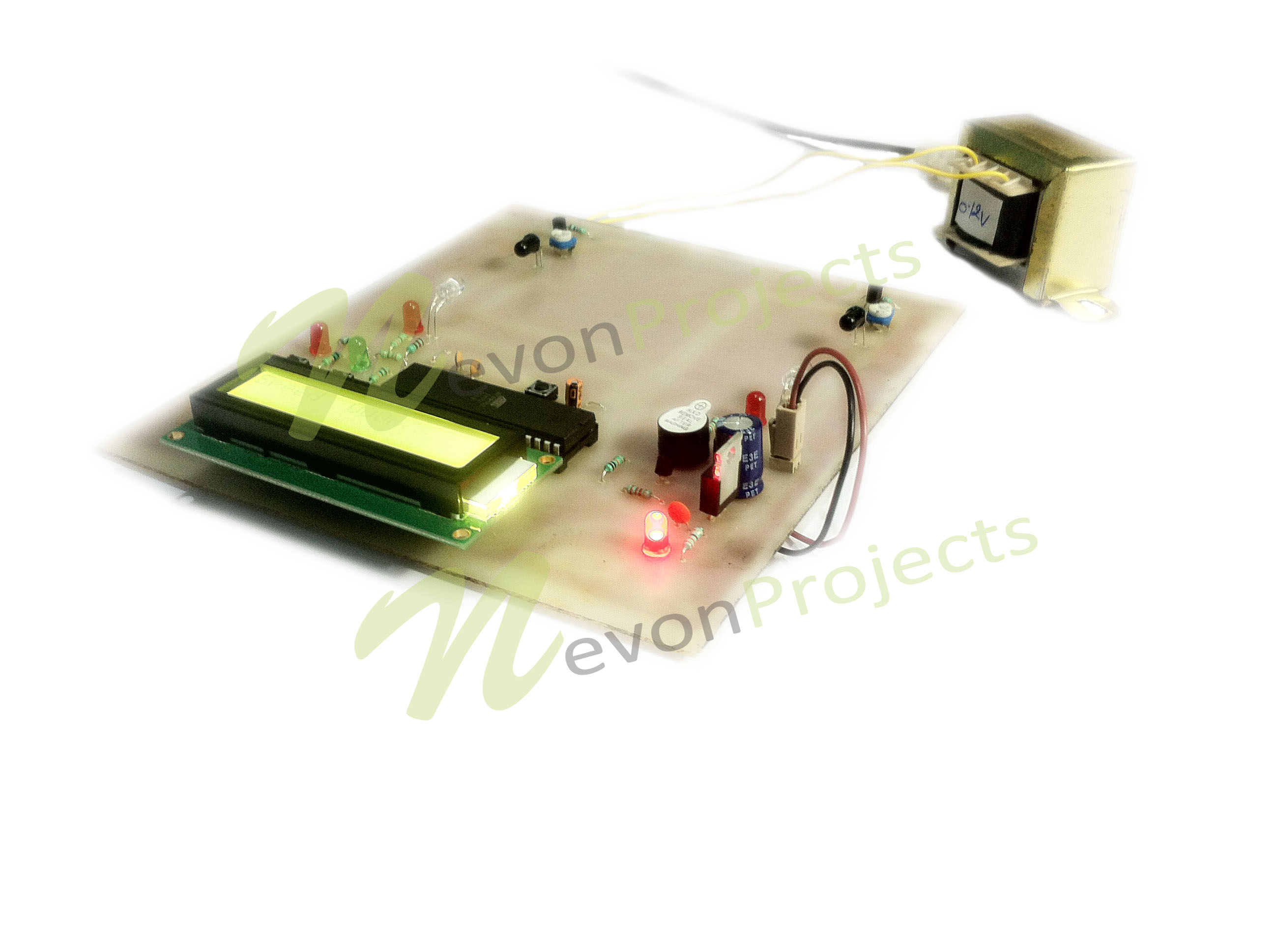 Human Speed Detection Project Electronics Projects Circuit