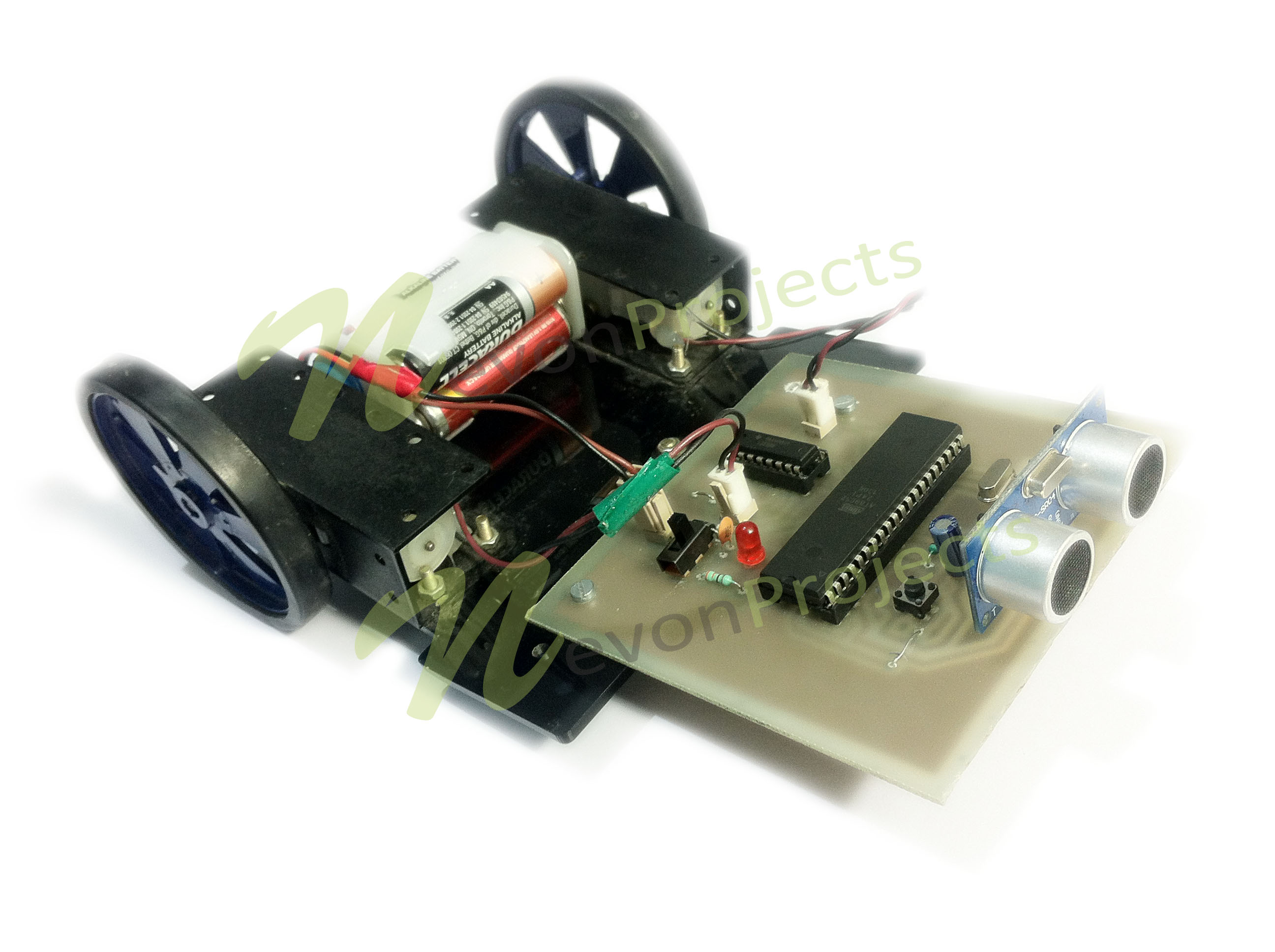 Obstacle Avoidance Robotic Vehicle Project Nevonprojects Transformer Diagram Arduino Robot Circuit