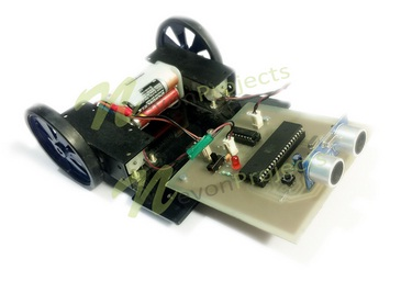 Obstacle Avoidance Robotic Vehicle Project