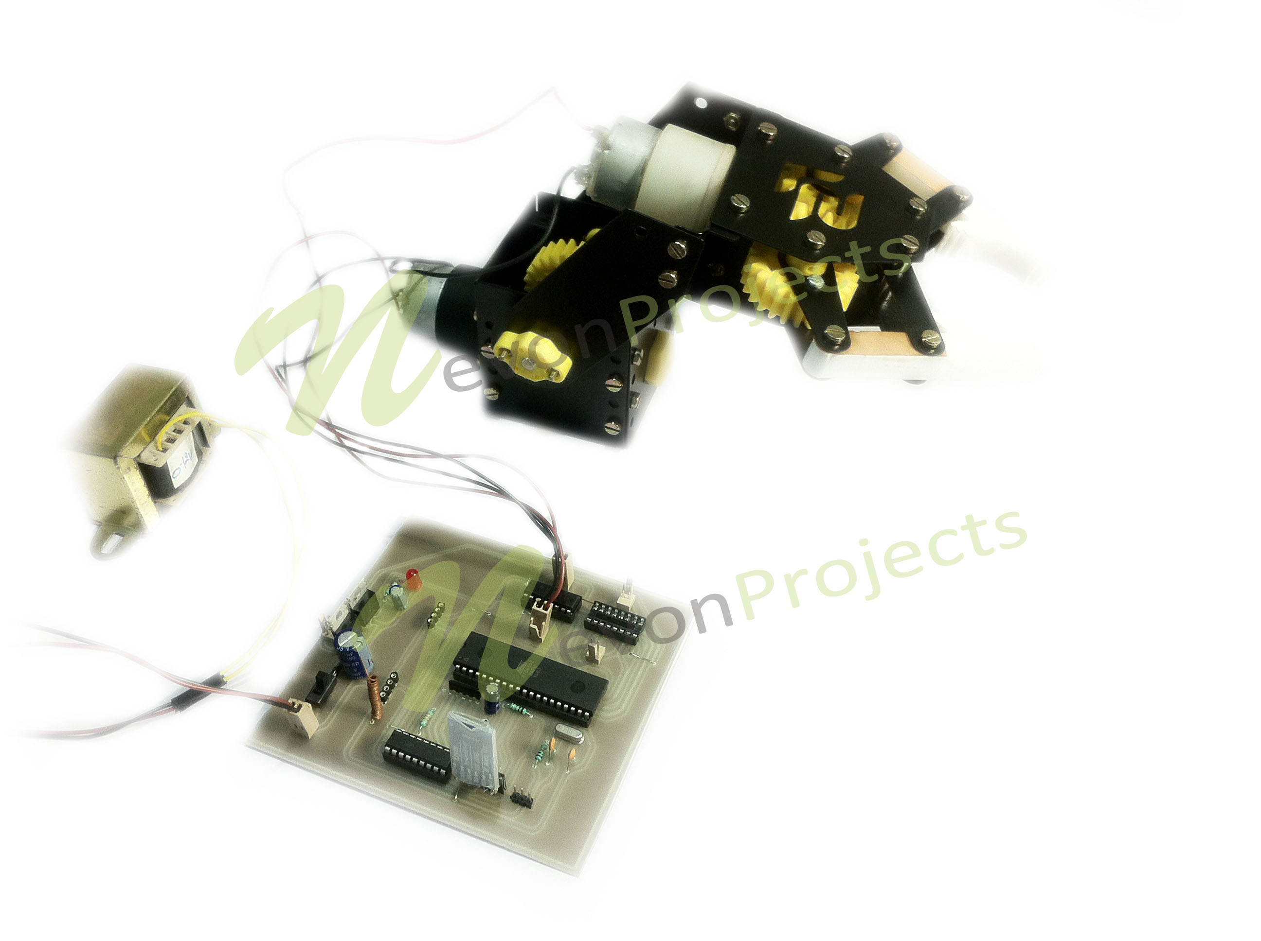 Android Controlled Robotic Arm