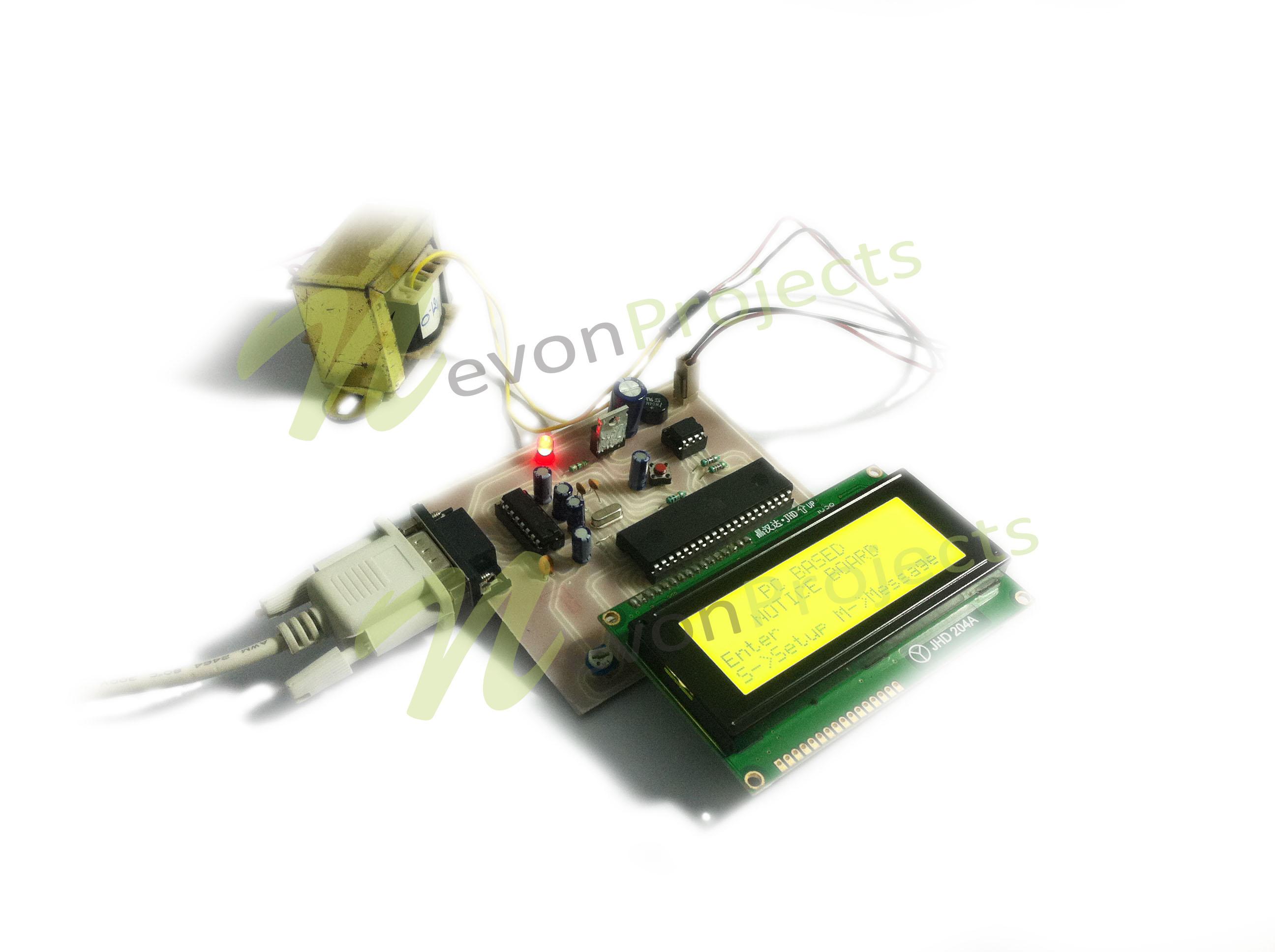 Microcontroller Based Schematics 8051 Development System Circuit Board