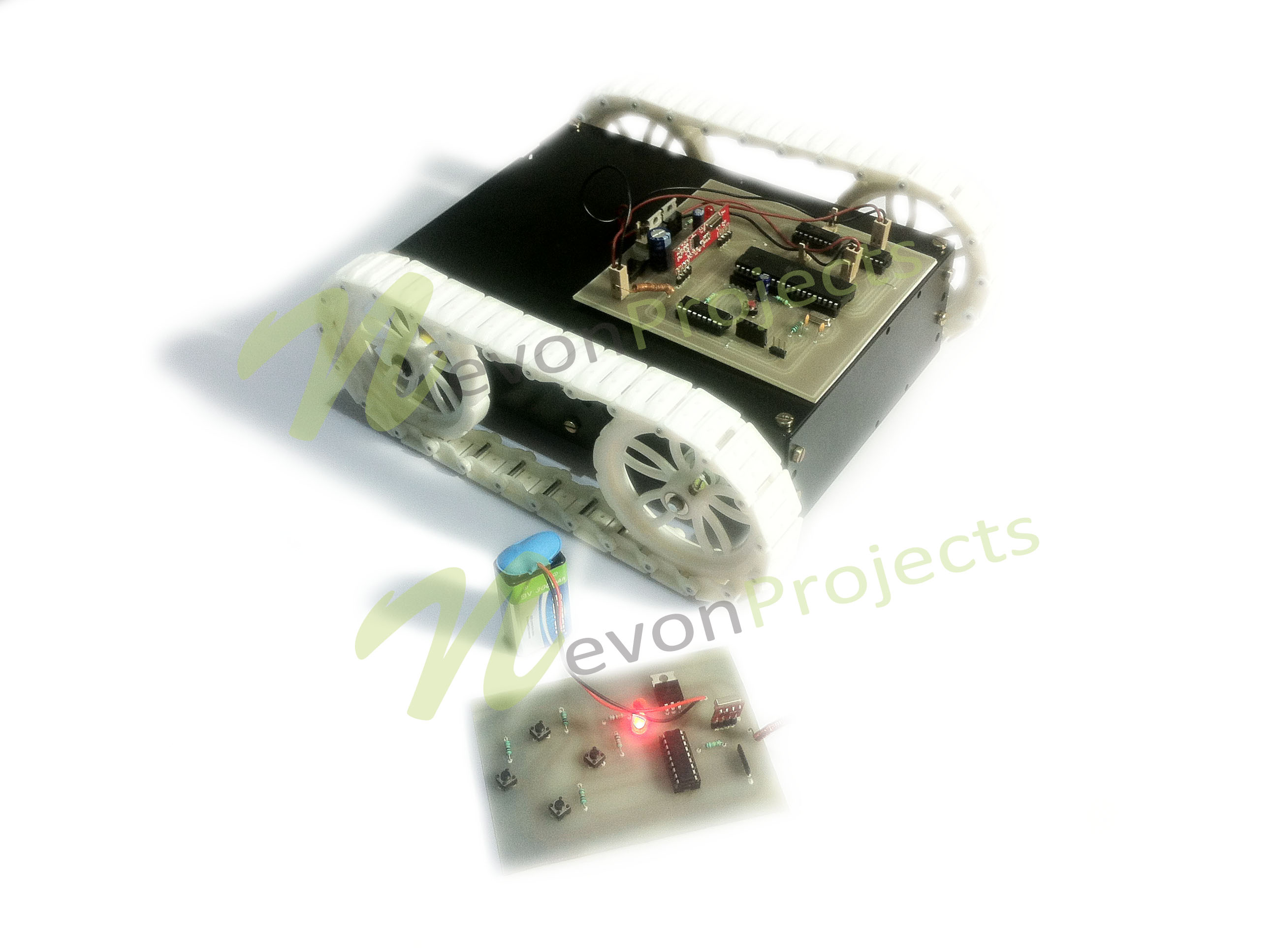 Remote Controlled Automobile Using Rf Nevonprojects Schematics Tutorials Downloads Contact 2 Channel Avr Control Based Home Automation Project