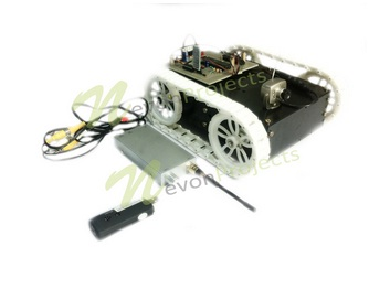 Android Controlled Spy Robot With Night Vision Camera