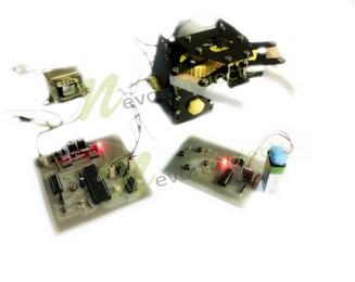 RF Controlled Robotic ARM