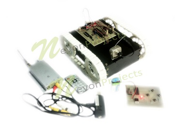 RF Based night vision spy robot