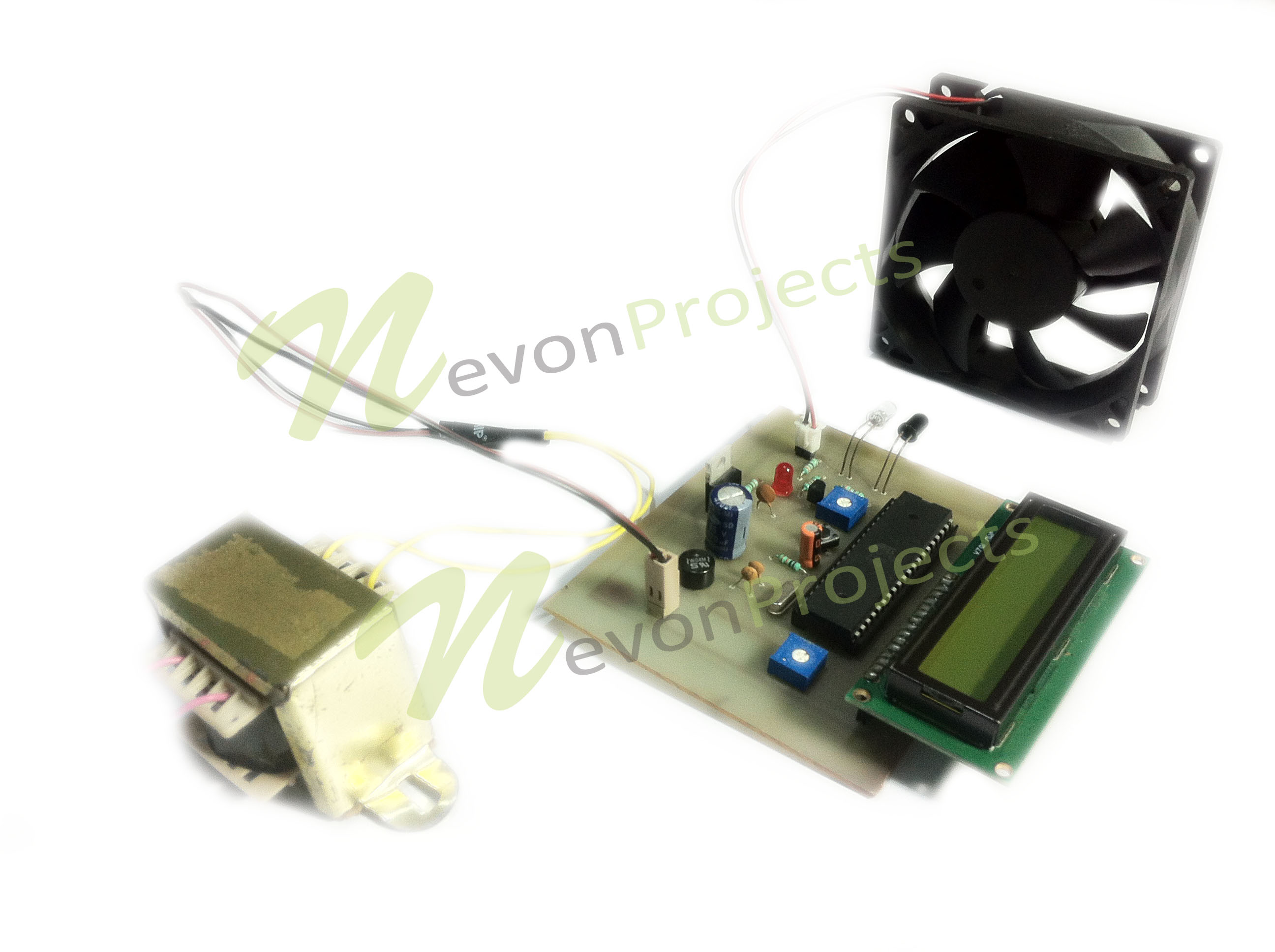 Zero Contact Tachometer Speedometer Project Nevonprojects Digital Using 8051