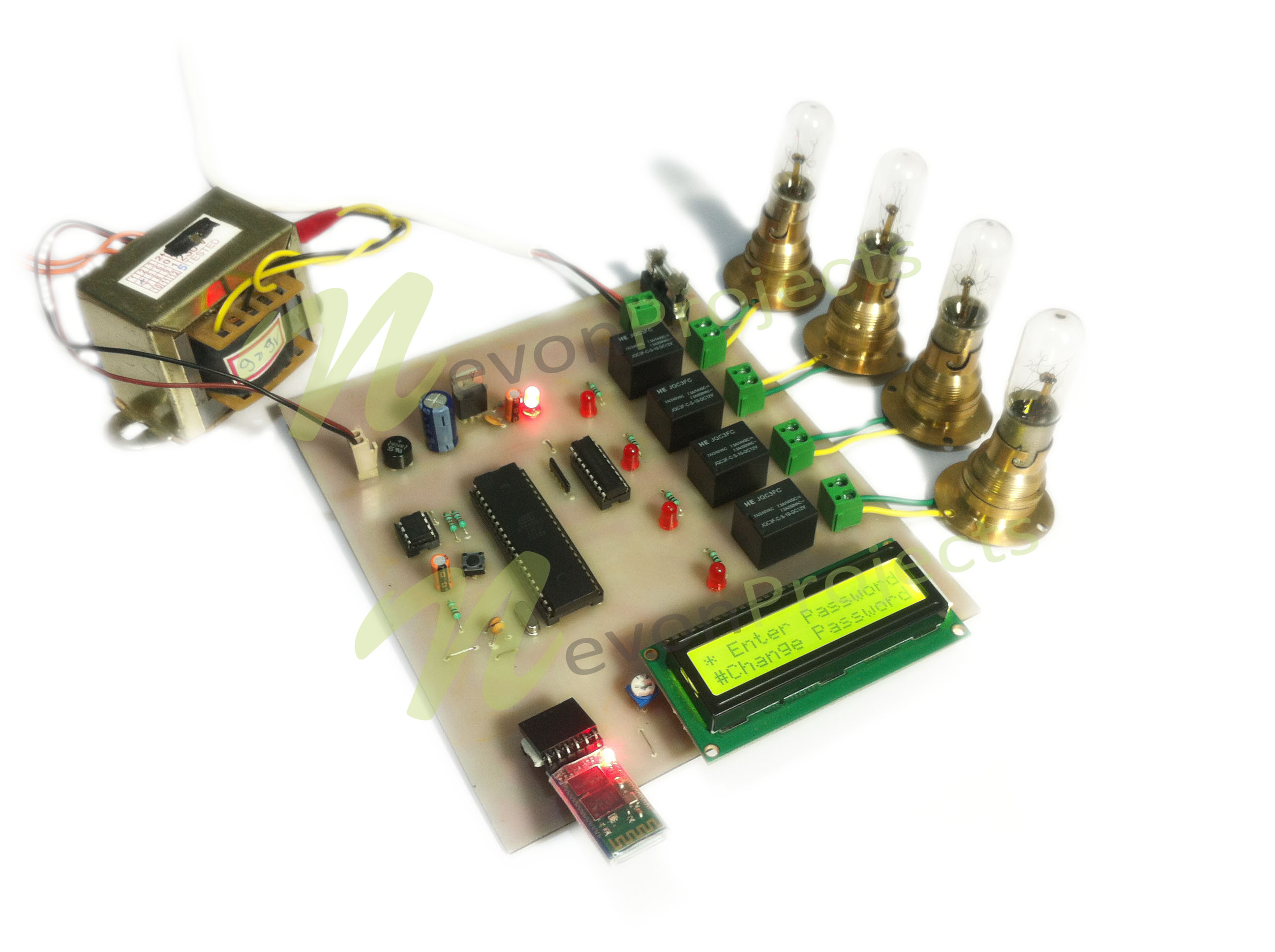 Android Circuit Breaker Project Bluetoothcircuit Based On