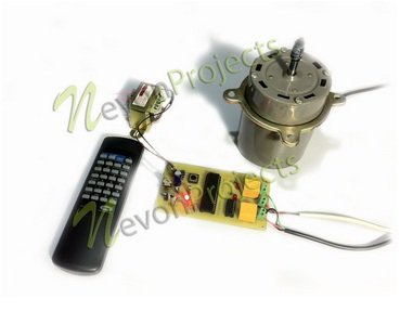 Remote Controlled Induction Motor Controller