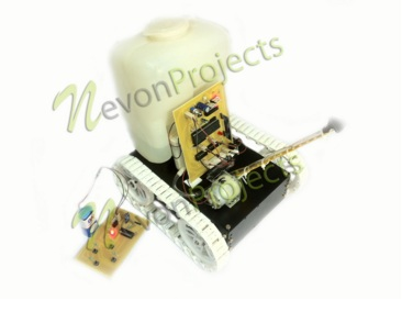 Fire Fighter Robot Project