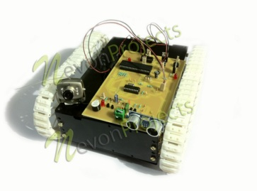 Long Range Spy Robot with Obstacle Detection