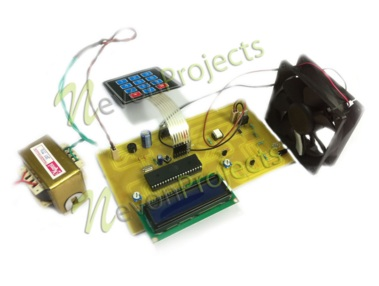 RPM Display For BLDC Motor With Speed Controller