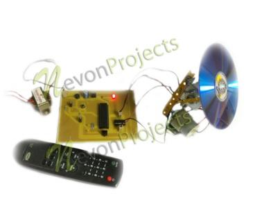 IR dish position controller