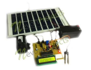 Irrigation System running on Solar Power