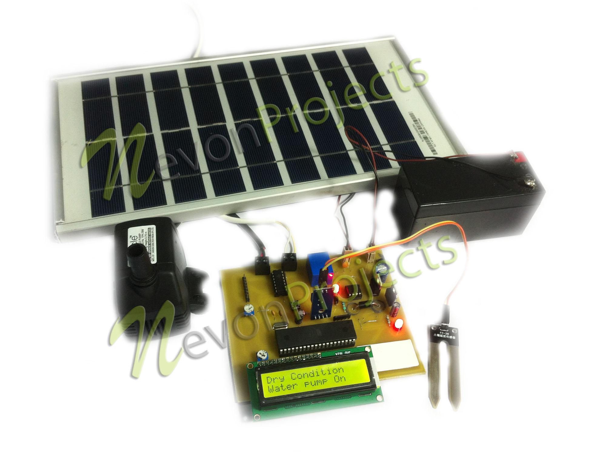 Irrigation System Running On Solar Power