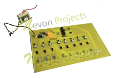 Vehicle movement street light atmega