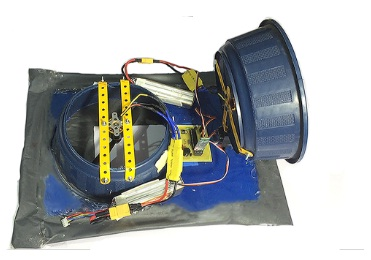 High performance hovercraft with power turning