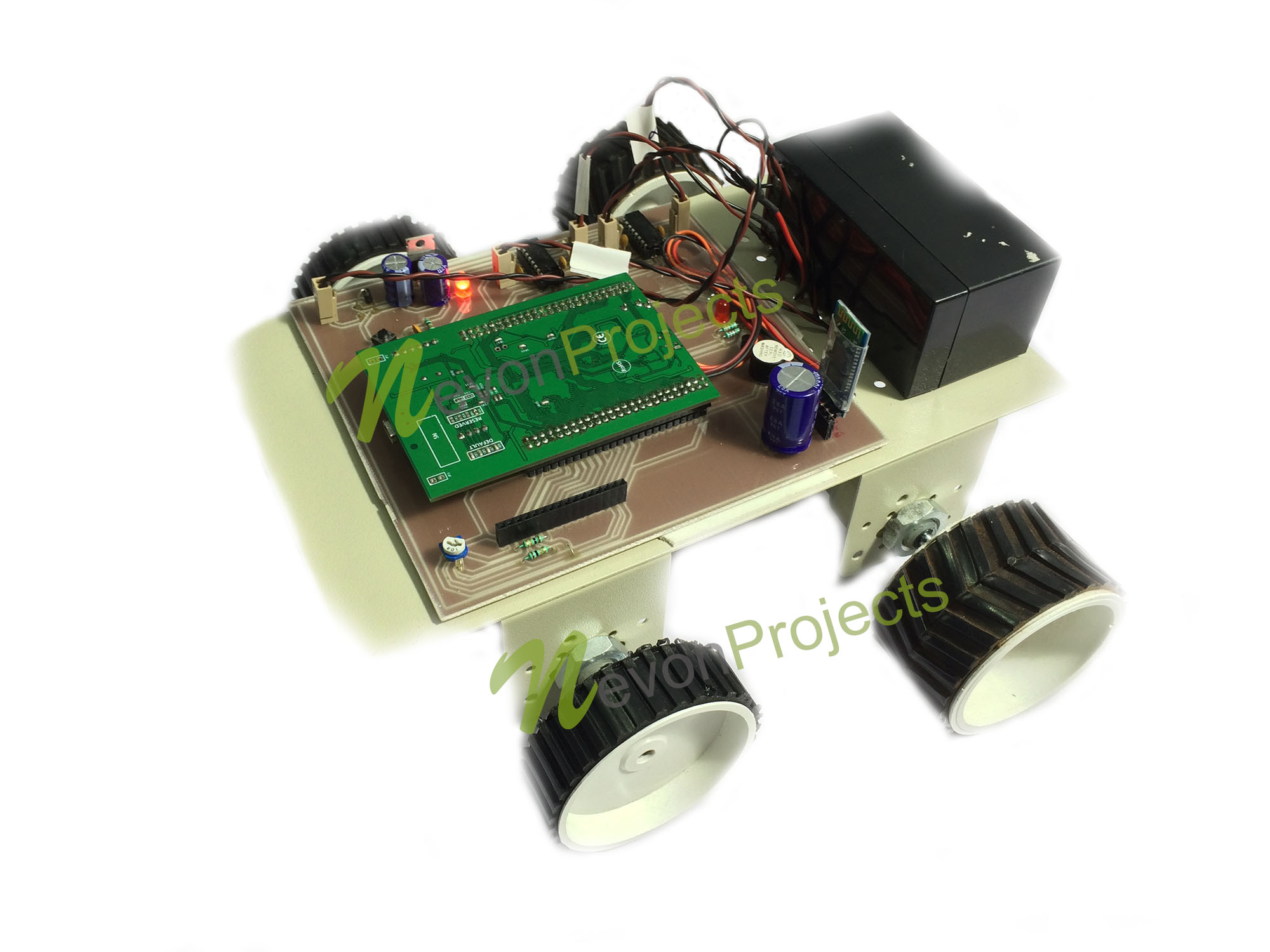 Accurate Speed Control Of Electric Car Using Arm Electronic Projects For Beginners Circuits