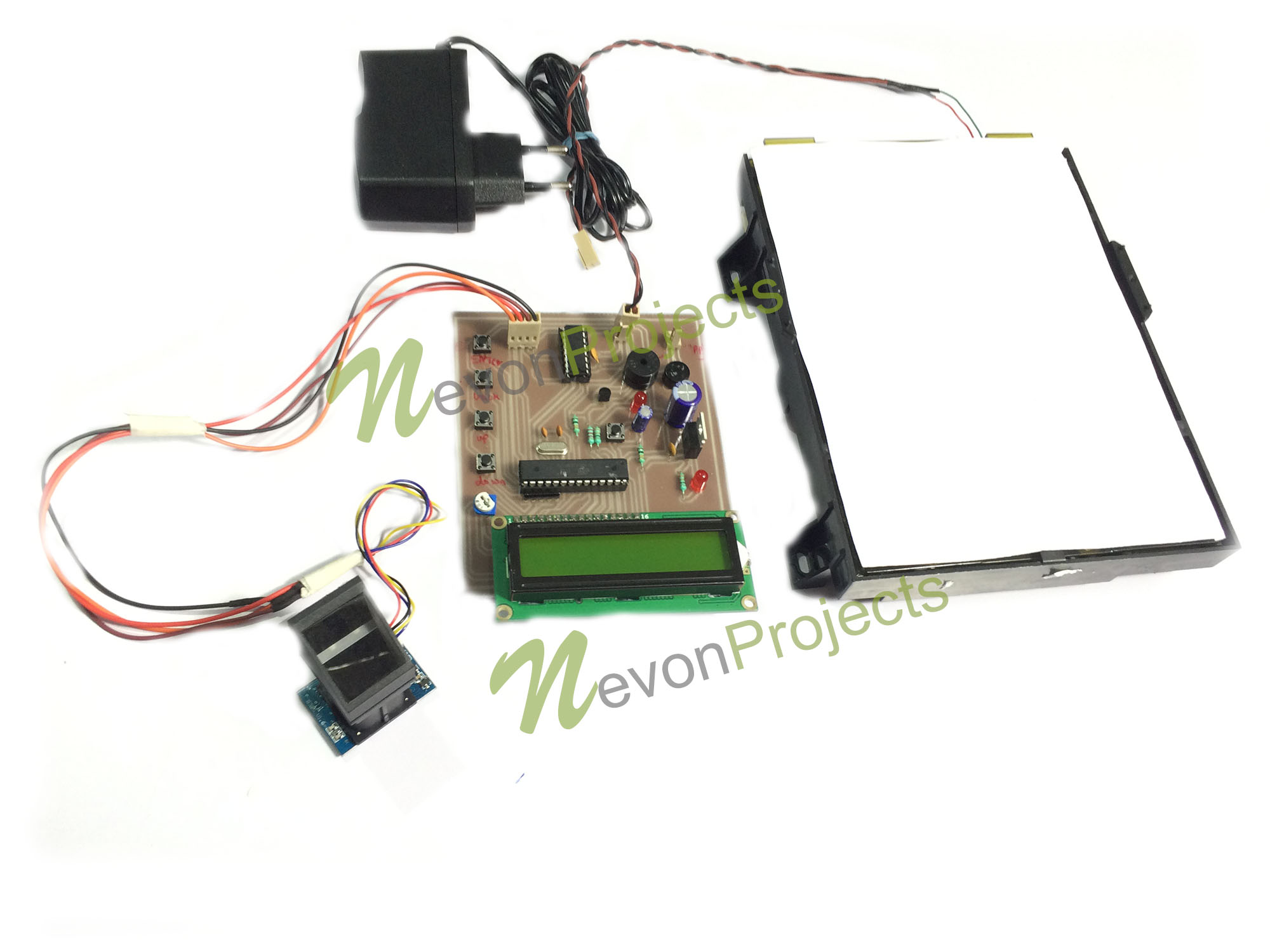 Fingerprint Based Security System Project | NevonProjects