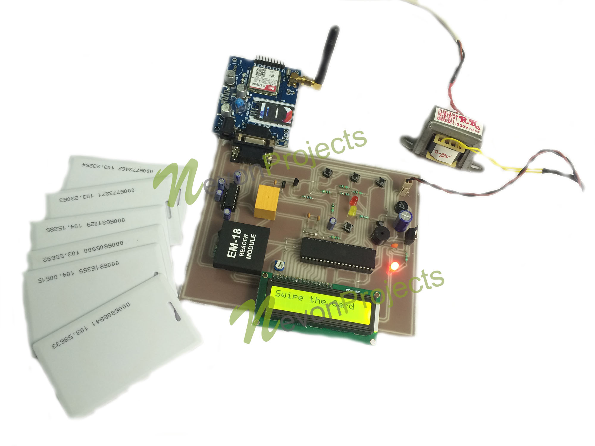 RFID Attendance System With SMS Notification