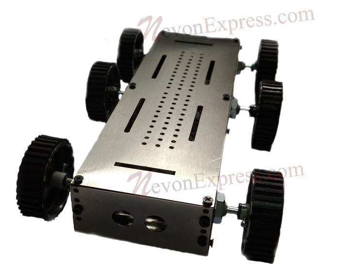 metal robot chassis