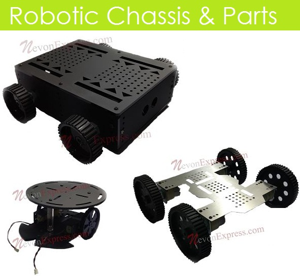 Robotic chassis & parts