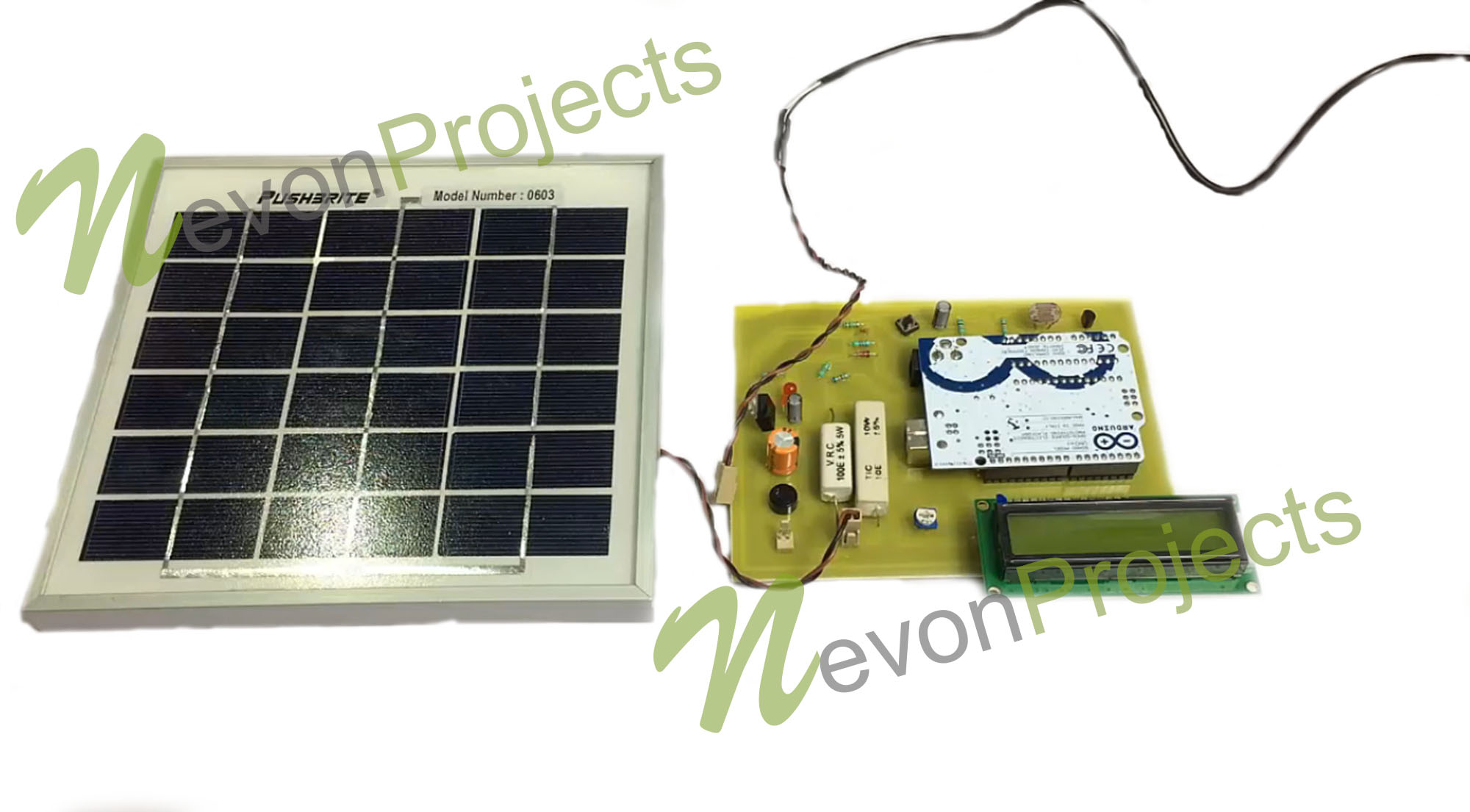 Arduino Based System To Measure Solar Power
