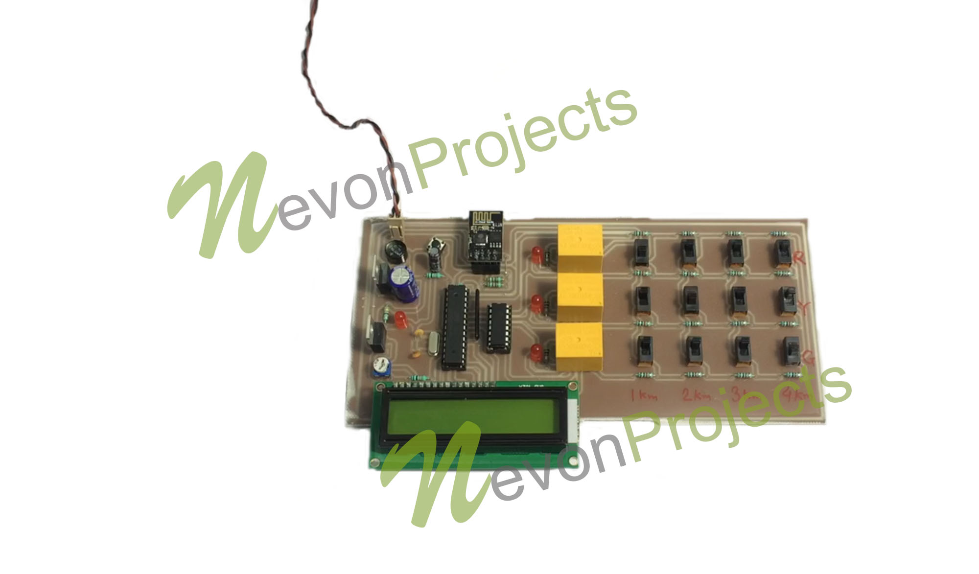 Iot Underground Cable Fault Detector Project Nevonprojects Electronic Circuit Kits India