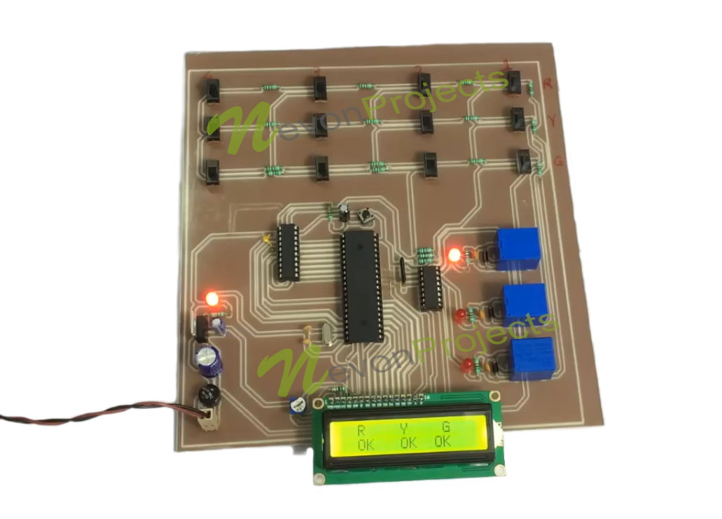 Cable Fault Kit : Cable fault distance finder project nevonprojects