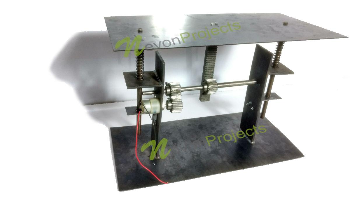 Design Amp Fabrication Of Mechanical Footstep Power Generator