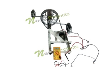 Pedal Powered Electricity Generator