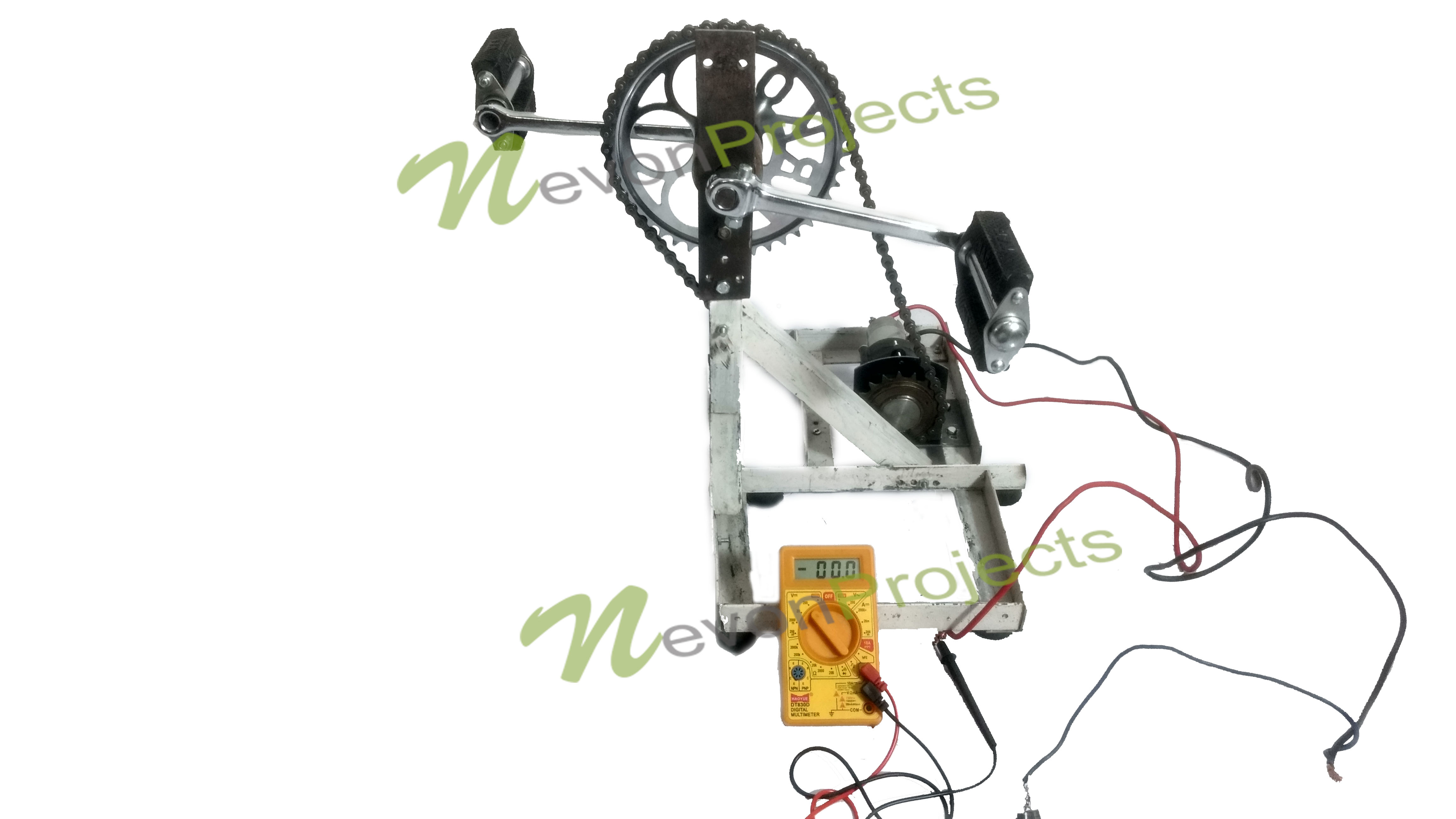 Pedal Powered Electricity Generator Project