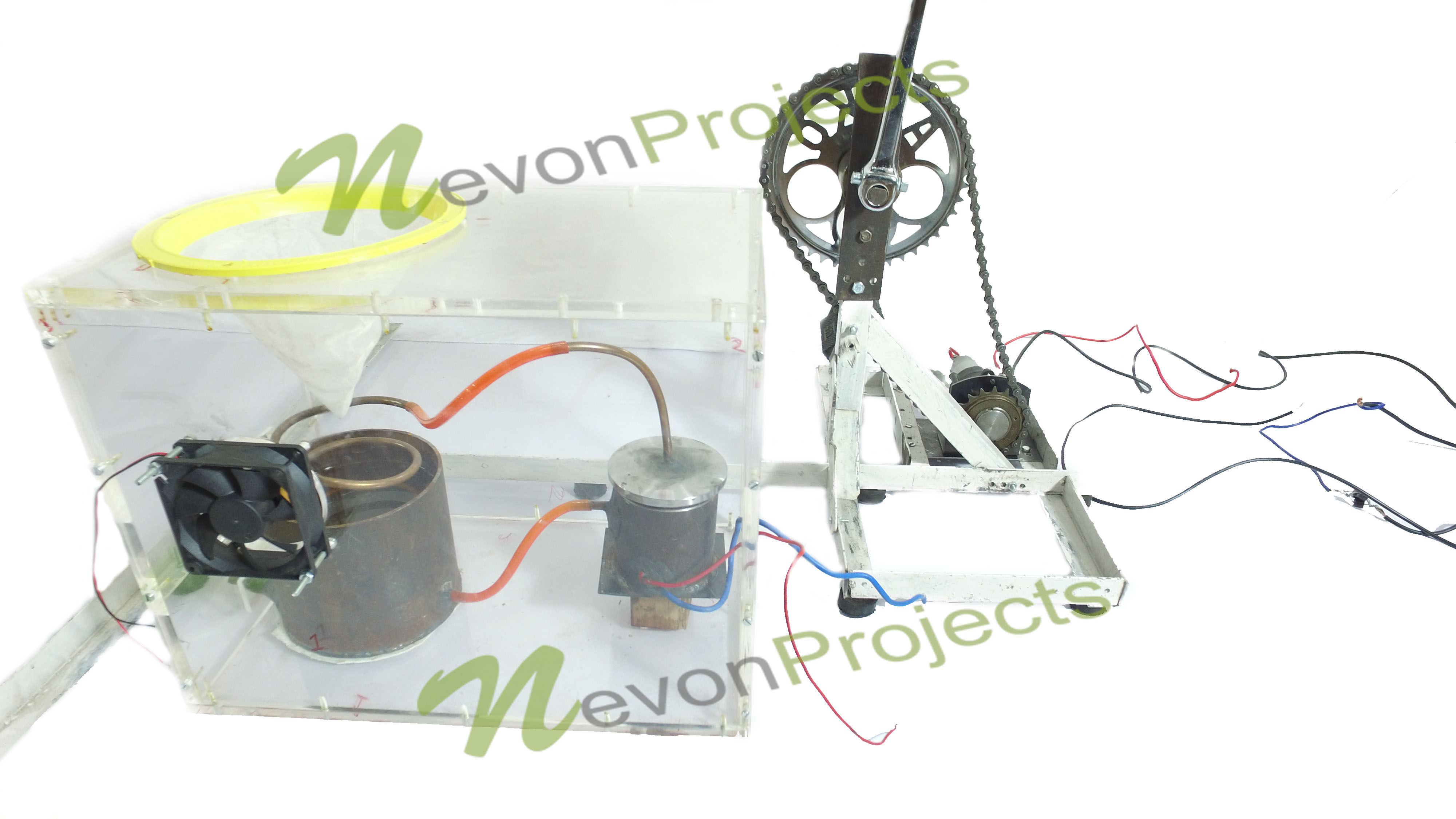 Pedal Powered Water Purifier System Filtration Diagram Project