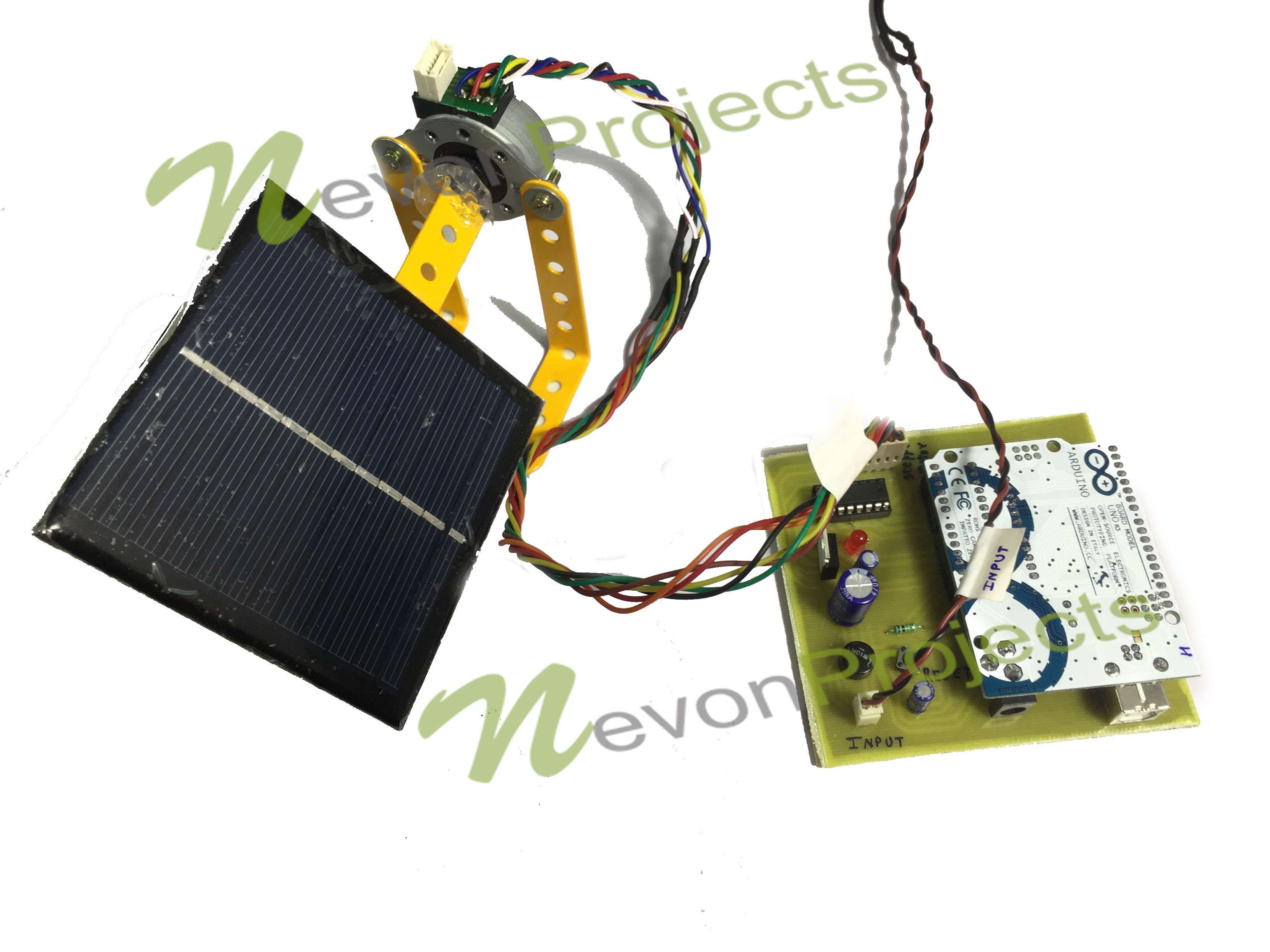 Sun Tracking Solar Panel Using Arduino Nevonprojects