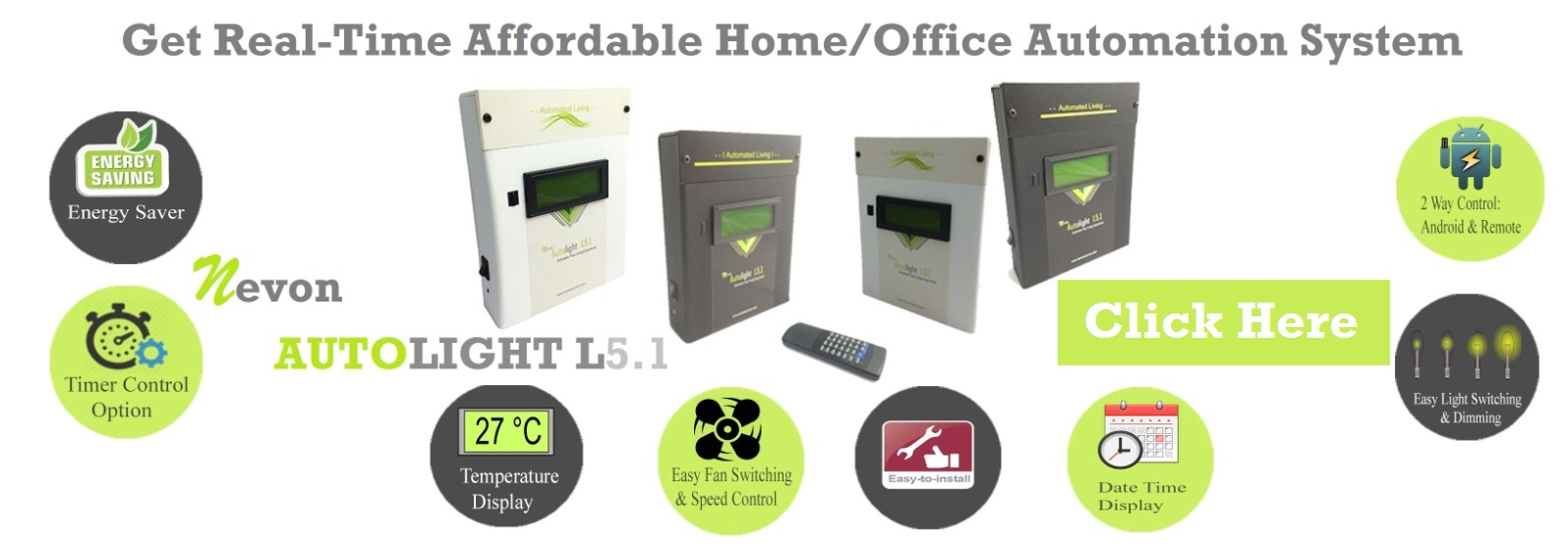 affordable home automation system