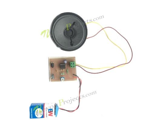 Automatic Smoke Detector Alarm